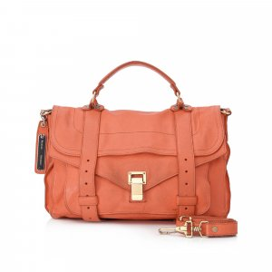 Proenza Schouler Medium PS1 Leather Satchel