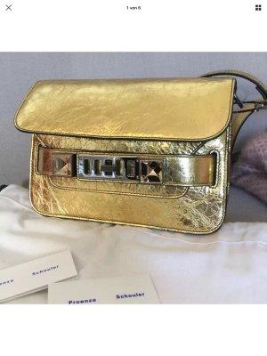 Proenza Schouler PS 11 Mini Bag Gold.