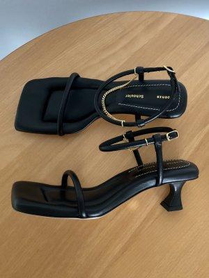 Proenza schouler Sandalen met bandjes zwart Leer