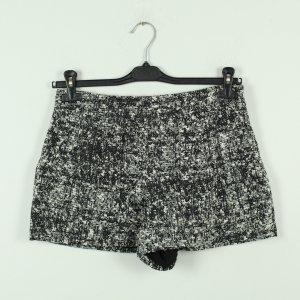Proenza schouler Pantaloncino a vita alta nero-bianco Cotone
