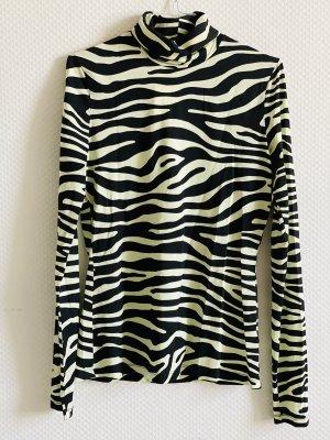 Proenza Schouler White Label Oberteil Zebra-Print
