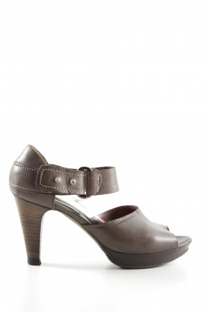 Progetto High Heel Sandaletten braun Casual-Look