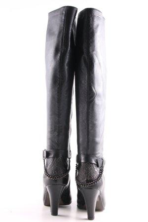 Progetto High Heel Stiefel schwarz Casual-Look