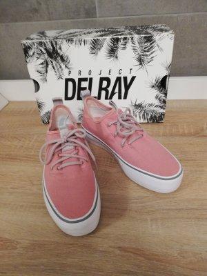 project Delray platform Sneaker altrosa Schlupf 39