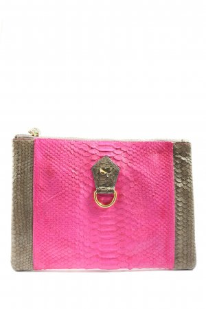 Project OONA Clutch roze-goud casual uitstraling