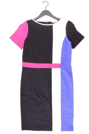 Promiss Etuikleid Größe 38 geometrisches Muster Kurzarm mehrfarbig aus Baumwolle
