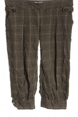 Promod 3/4 Length Trousers brown allover print casual look