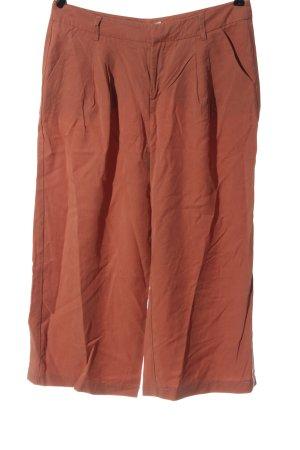 Promod Pantalon 3/4 orange clair style décontracté