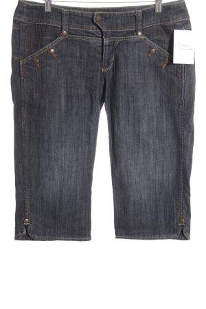 Promod 3/4 Jeans dunkelblau Casual-Look