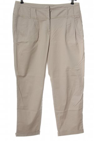 Promod 7/8 Length Trousers cream casual look