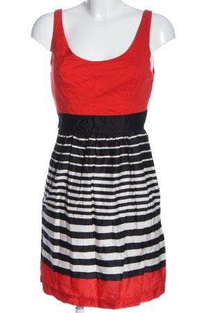 Promod A-Linien Kleid Streifenmuster Casual-Look