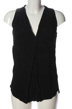 Promod ärmellose Bluse schwarz Casual-Look