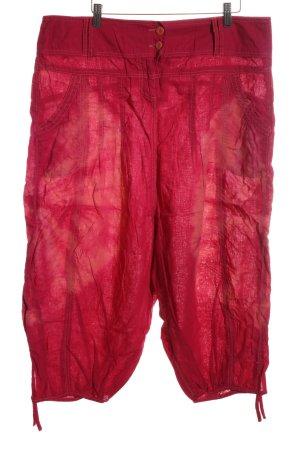 Promod Pantalón abombado rojo look casual