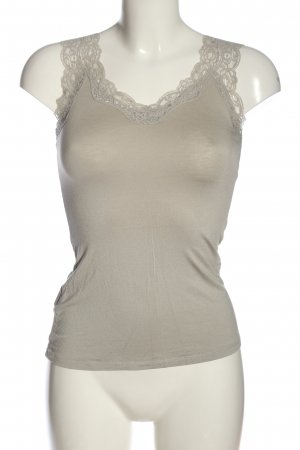 Promod Basic Top light grey casual look