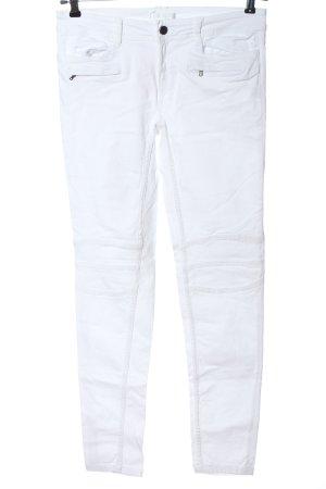 Promod Jeans de moto blanc style décontracté