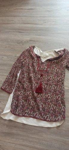 Promod Shirt Tunic bordeaux