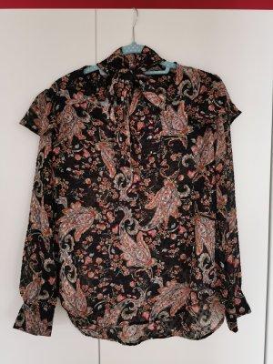 Promod   Bluse mit Schleife & Blumenmuster