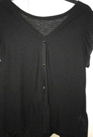 Promod Bluse Top schwarz gr m 36