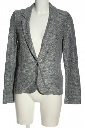 Promod Blusenjacke weiß-schwarz meliert Casual-Look