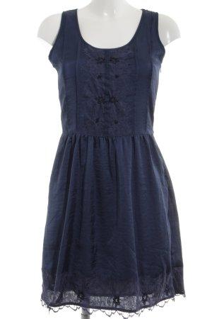 Promod Blusenkleid blau Casual-Look