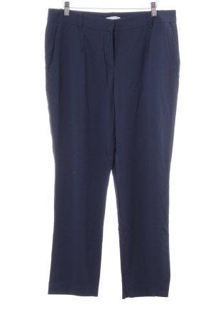 Promod Bundfaltenhose blau Casual-Look