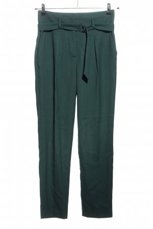 Promod Bundfaltenhose grün Business-Look