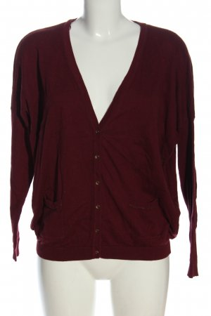 Promod Cardigan rot Casual-Look