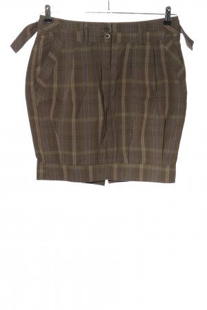 Promod Cargo Skirt check pattern casual look