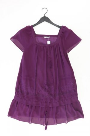 Promod Szyfonowa sukienka fiolet-bladofiołkowy-jasny fiolet-ciemny fiolet