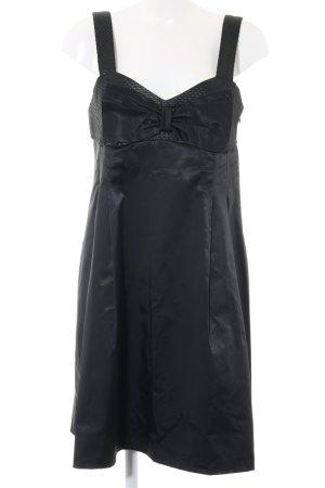Promod Cocktailkleid schwarz grafisches Muster Elegant