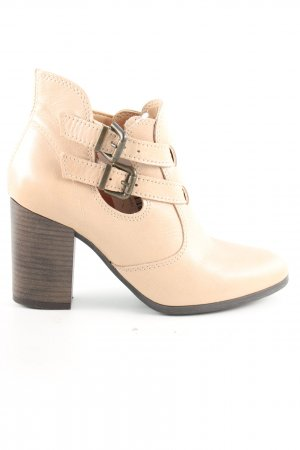 Promod Cut-Out-Stiefeletten creme Casual-Look