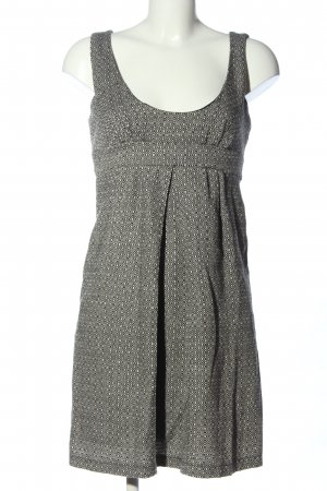 Promod Empire Dress light grey-cream allover print casual look
