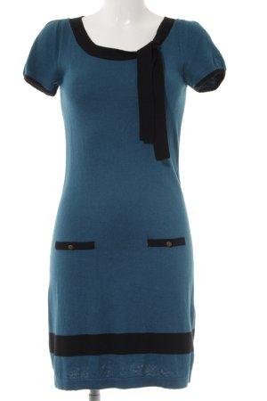 Promod Etuikleid kadettblau-schwarz Business-Look