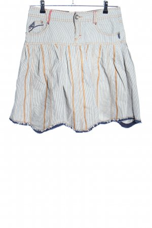 Promod Falda a cuadros estampado a rayas look casual