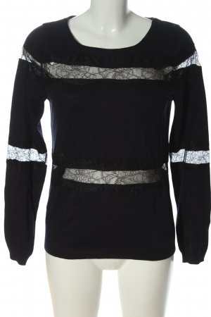 Promod Feinstrickpullover schwarz Casual-Look