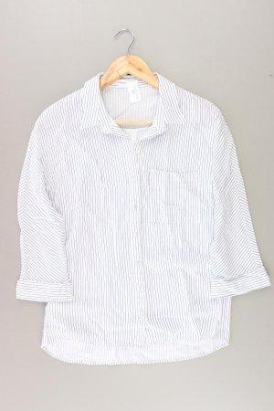 Promod gestreifte Bluse weiß Größe 38