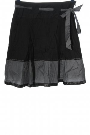 Promod Flared Skirt black-light grey casual look
