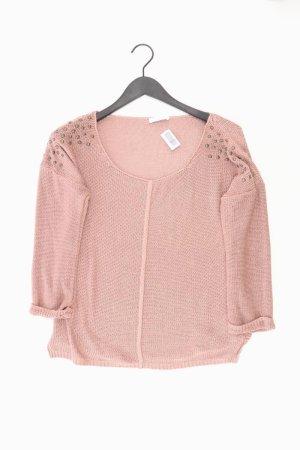 Promod Pullover a maglia grossa rosa antico-rosa pallido-rosa chiaro-rosa