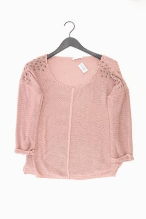 Promod Pull à gosses mailles vieux rose-rosé-rose clair-rose