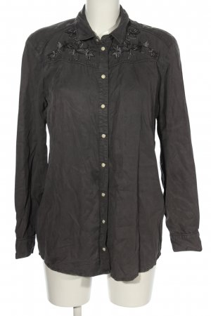 Promod Hemd-Bluse schwarz Casual-Look