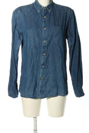 Promod Hemd-Bluse blau Casual-Look