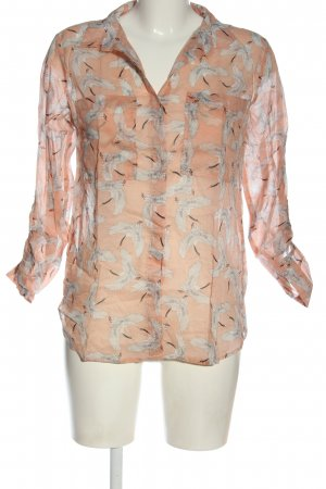 Promod Hemd-Bluse Allover-Druck Casual-Look