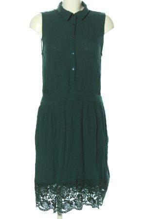 Promod Hemdblusenkleid grün Elegant