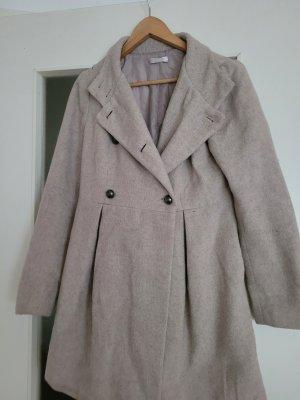 Promod Giacca di lana crema-beige