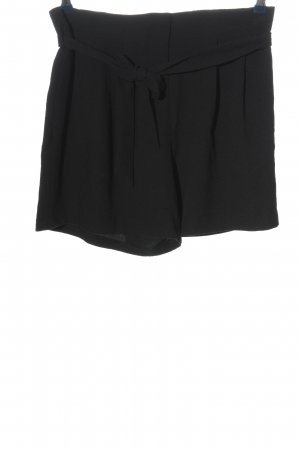 Promod High-Waist-Shorts schwarz Casual-Look