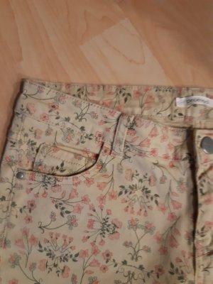 Promod Pantalón de cinco bolsillos color oro-albaricoque Algodón