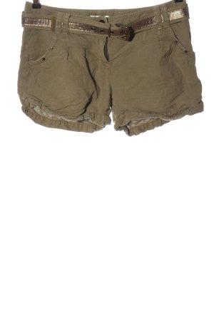 Promod Hot Pants braun-goldfarben Casual-Look