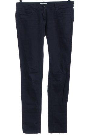 Promod Pantalone a vita bassa blu stile casual