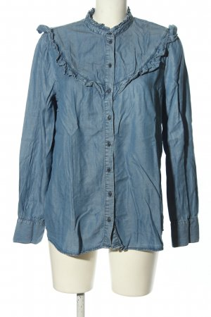 Promod Jeansbluse blau Casual-Look
