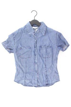 Promod Jeansbluse Größe S Kurzarm blau